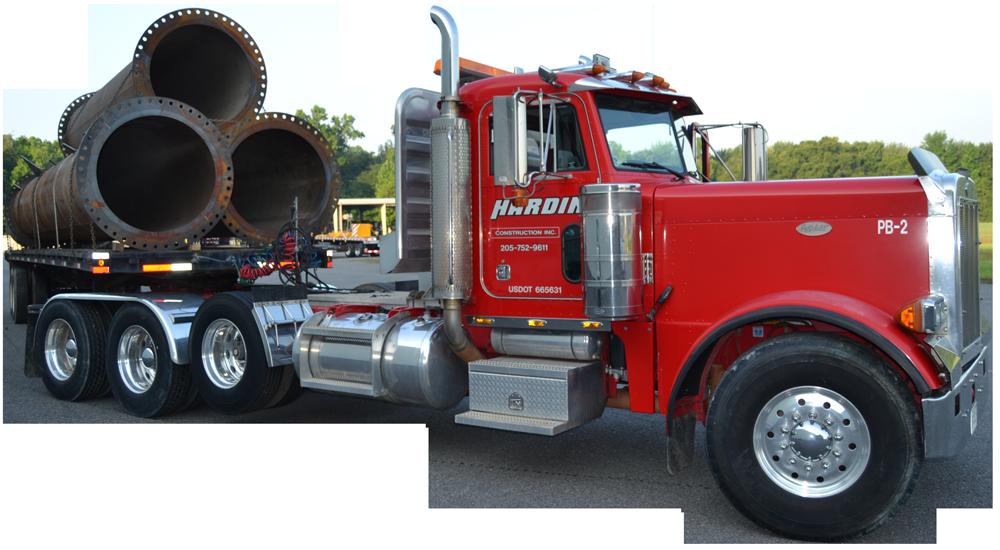 Brion Hardin truck