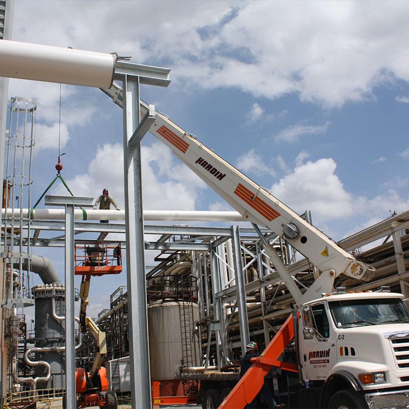 Brion Hardin Construction Crane Rentals