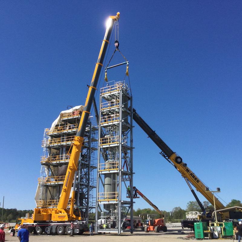 crane rentals and heavy construction equipment